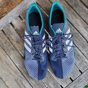 Adidas Adizero track cleats mens size 11 like new